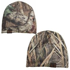 276ebad1e7c Miami Hurricanes Top of the World Double Moss Reversible Knit Hat - Mossy  Oak Camo