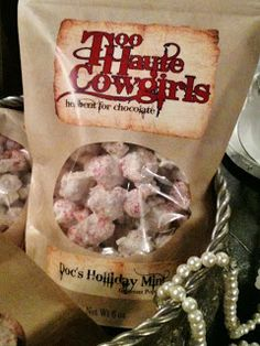 YUMMY FOR YOUR TUMMY! TOO HAUTE COWGIRLS POPCORN WITH NEW FLAVORS!