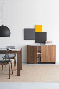 Sedia CECCHETTO modello Led Wood plastica base legno