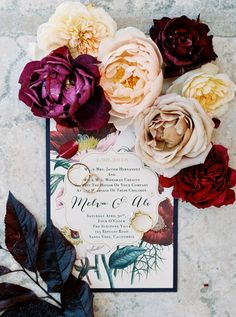 Multicultural colorful wedding invitation: http://www.stylemepretty.com/2016/09/26/multicultural-mexican-arabic-wedding/ Photography: Luna de Mare - http://lunademarephotography.com/
