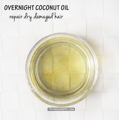OVERNIGHT COCONUT OIL HAIR MASK