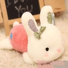 "Plush Soft Toy Stuffed Animal Lovely Rabbit Cute Bunny Gift 42cm 16.5"" PinkGift"