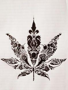 weed pencil sketch - Google Search