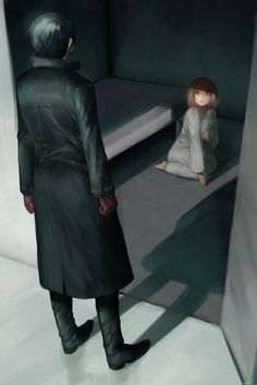 Kaneki and Hinami >>> This gave me so many feels its not even funny....  (ノ´ー`)ノ