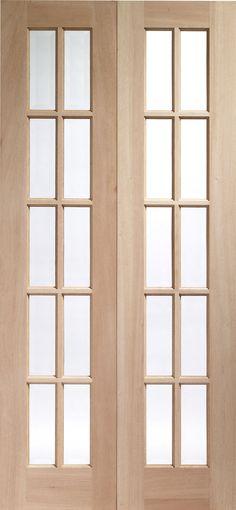 narrow french door photos | French Doors Hardwood & doors kitchen to outside. Narrow French doors to open from studio ...