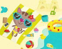 Cool Cat Summer