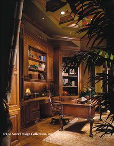 "The Sater Design Collection's luxury, Spanish home plan ""Marrakesh"" (Plan #6942). saterdesign.com"