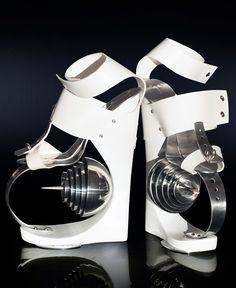 55fa9e57d4ddf1 high heels omar perez designboom Funny Shoes