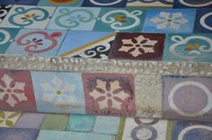 """Seminyak Bali, pretty coloured tiles  Living in Sin: Project World Colours - Kicking off 2014 with """"Rainbow"""""""