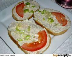 Školková pomazánka Pavlova, Bruschetta, Avocado Toast, Baked Potato, Ham, Salads, Food And Drink, Yummy Food, Meals