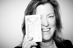 Photo of me and The Devil tarot card by photographer Max Montgomery. Taken at the Hope Made Real event last Friday.