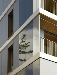 Beautiful Residential Complex, Milan, Italy , 2011   DesignRulz.com