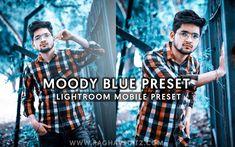 Moody Blue Lightroom Mobile Preset - Lightroom Presets Best Photo Background, Light Background Images, Editing Background, Smoke Background, Instagram Background, Picsart Background, Best Free Lightroom Presets, Adobe Photoshop Lightroom, Jazz