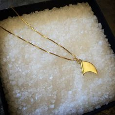 Black Friday Sale, Silver or Gold Surf Board Fin Pendant, Gold Necklace, Surf Jewelry, Surf Necklace, Fins, Surfboard fin, Gift, Christmas.  This 14k