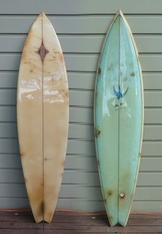 Vintage surfboard from Australia.