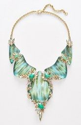 Alexis Bittar 'Lucite®' Bib Necklace available at Bib Necklaces, Beaded Necklace, Statement Necklaces, Fashion Jewelry, Women Jewelry, Women's Fashion, Jewelry Companies, Jewelry Design, Designer Jewelry