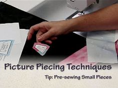 Picture piecing video tutorial