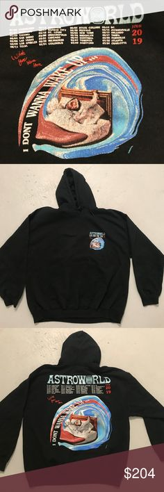 2802967312f6 Travis Scott Astroworld Hoodie Merch. 2019 NYC MSG Up For Sale Is A Brand  New