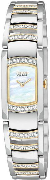 EG2734-56D - Authorized Citizen watch dealer - LADIES Citizen SILHOUETTE CRYSTAL, Citizen watch, Citizen watches