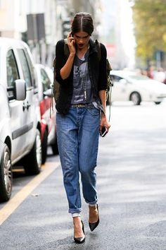10 cool model outfits - Milano street style. 2015米蘭時裝周精選:十位模特兒私服街拍   Popbee - 線上時尚生活雜誌