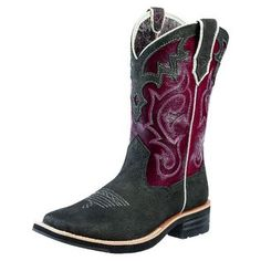 Ariat- -Western Boots Womens Cowboy Unbridled Stealth Black 10010193