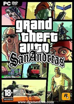 Grand Theft Auto: San Andreas is an action-adventure game developed and published by Rockstars. It was released after Gta Vice City.