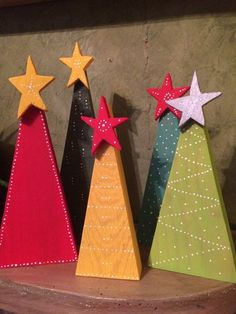Primitive rustic wooden christmas tree with star reclaimed wood etsy christmas, christmas wood crafts, Wooden Xmas Trees, Wooden Christmas Decorations, Christmas Wood Crafts, Christmas Tree Crafts, Rustic Christmas, Christmas Projects, Handmade Christmas, Holiday Crafts, Christmas Ornaments