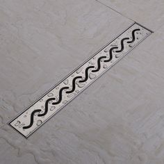 Check Price Linear Shower Floor Drains Grates Curved Flange 50 100Cm 304 Stainless Steelshower #Linear #Shower #Drains