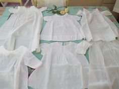 Christening dresses from the 1940s