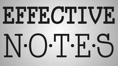 Nursing School | Effective Note Taking & Examples