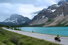 this looks like norway...  in other news, this couple is biking through every country in the world. no big.