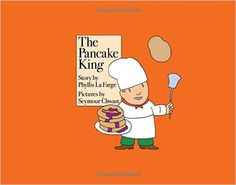 The Pancake King Phyllis La Farge and Seymour Chwast Marvelous vintage children's book about how success and prestige hijack our sense of purpose, illustrated by the great graphic designer Seymour Chwast: Seymour Chwast, Dog Day Afternoon, Books 2016, Children's Picture Books, Kids Boxing, Chapter Books, Stories For Kids, Book Activities, Vintage Children