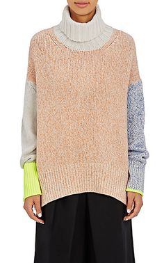 We Adore: The Colorblocked Turtleneck Sweater from Tomorrowland at Barneys New York