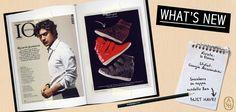 """La sneaker con zeppa modello Bea è la protagonista della rubrica """"In punta di piedi""""; il nuovo numero di Io Donna rivela i rialzi segreti delle donne!  #ashitalia"""