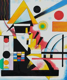 Kandinsky - Balancement (Swinging)