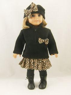 Fits 18 Inch Dolls Leopard Animal Safari Jungle by dressurdolly2