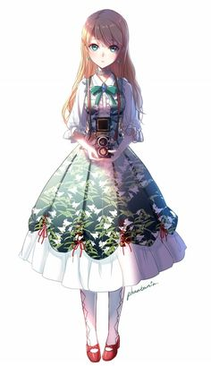 Drawing anime girl kawaii outfit Ideas for 2019 Manga Girl, Anime Girl Dress, Anime Girls, Anime Art Girl, Manga Kawaii, Chica Anime Manga, Kawaii Anime Girl, Fille Blonde Anime, Art Anime Fille