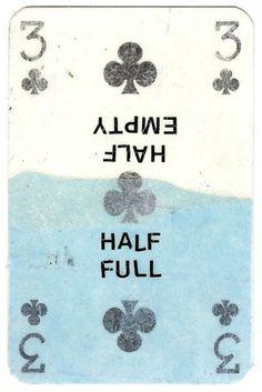 Half Full/Empty