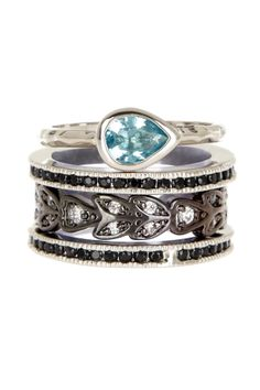 Melo Stack Ring Set