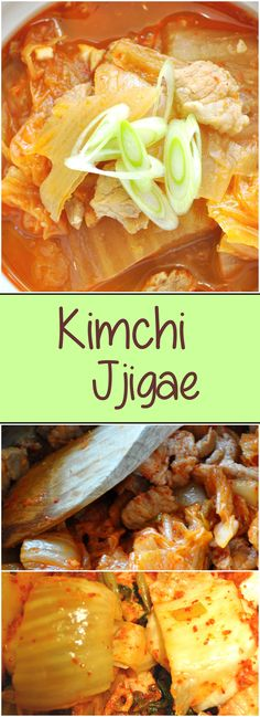 Kimchi Jjigae (김치찌개) is a spicy,savory and sweet stew with all the wonderful flavors of kimchi.  If you have leftover kimchi -   transform it into kimchi jjigae.  | Kimchimari.com