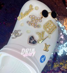 Crocs Shoes, Casual Shoes, Gems, Outfits, Suits, Rhinestones, Jewels, Gemstones, Emerald
