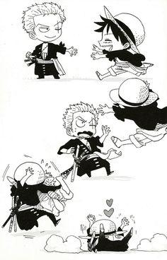 Luffy Zoro