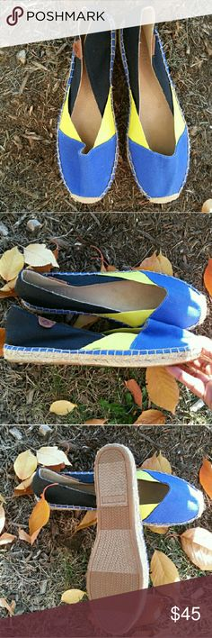 Sperry KATAMA Cape Color Block Espadrille New never worn   WHEN YOU ARE MAKING AN OFFER PLEASE REMEMBER POSHMARK TAKES 20% Sperry Top-Sider Shoes Espadrilles