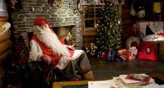 Sending Santa letters in Finnish Lapland
