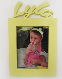 Picture Personalised Frame for Children, Newborn Custom Gifts, Nursery Wall Hanging, Birthday's Photo Frame