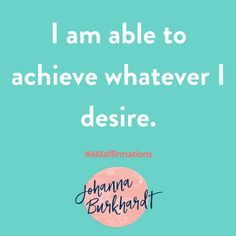 Where there's a will there's a way. Be open to creative possibilities. #inspirationalquotes #AMAffirmation #Affirmations #Lifecoach www.Johannaburkhardt.com