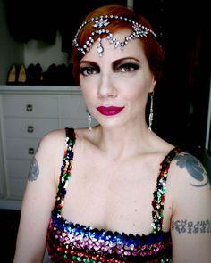 Julia Petit look de melindrosa trevosa para carnaval