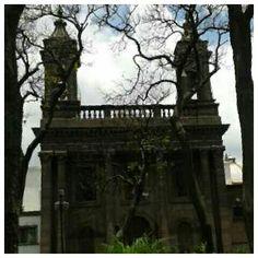 Templo de Nuestra Señora del Carmen. Guadalajara Jalisco.
