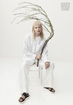 Harper's Bazaar Australia 'The White Album' Henna Lintukangas by Georges Antoni