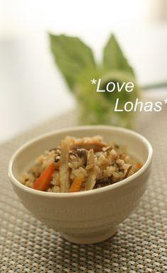 牛蒡(ごぼう)と塩昆布の炊き込みご飯 by LOVELOHA [クックパッド] 簡単おいしいみんなのレシピが263万品